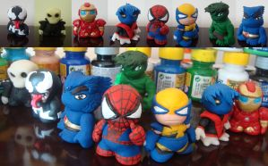 Chibi MarvelCollection Biscuit by VaderToy