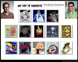My Top 13 Favorite Tom Kenny Characters by SithVampireMaster27
