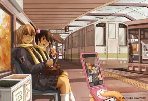 Eki Train Station by dead-robot