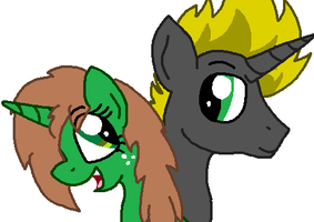Me and Gak by Sketchstar-mids-sis