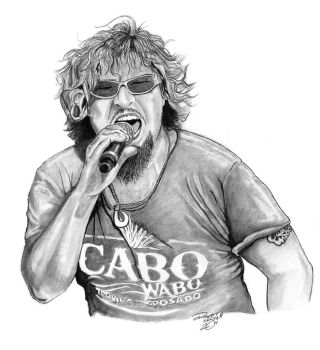 Sammy Hagar by coldgopher