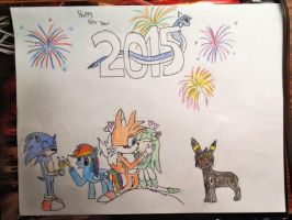 Happy New Year 2015 by geekygraphics42