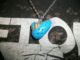 Ocarina Of Time Charm Remade by Unforgiven-xo
