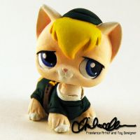 Legend of Zelda Kitty Link custom LPS by thatg33kgirl