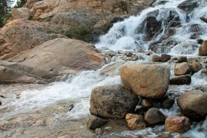 Close Up of Alluvial Fan by FranklymyDeer