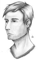 A Portrait of a Man by InkCell-Illustration