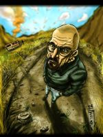Walter White Breaking Bad by RV5T3M