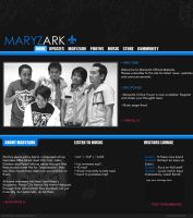 Maryz Ark Web Template by sixpence-glory