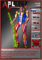 SSC AFL5 character sheet by wIZBURF