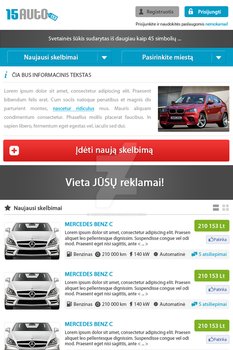 classifieds phone version by ARIUSdesign