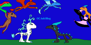 OC Ask Blog Cover by SnowDragoness