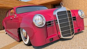 1953 Mercedes Benz 180 by SamCurry