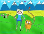 What time is it? ADVENTURE TIME!!!!!! by Nutella-Cookie