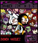 Invader Zim N.d .G  Cover by naruto-warriors-oc