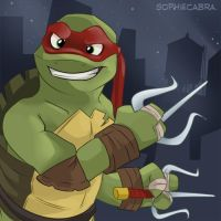 Fan Favorite Series #15 - Raphael by sophiecabra