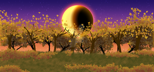 Autumn Forest Background by The-Clockwork-Crow