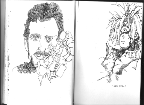 ringo starr/lord boros by Jellysauce