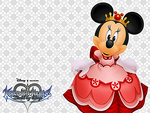 KH BBS - Queen Minnie Wallpaper by Skylight1989