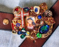 Madonna and Child belt buckle by bchurch