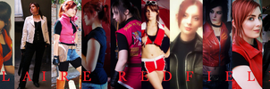 Claire Redfield Cosplay Wallpaper by biohazardrocks1