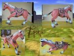 Epona papercraft by Caronat