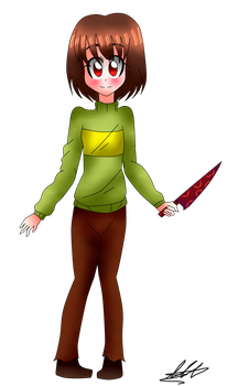 [Chara] by WaterFox-Studios