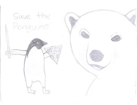 Save The Penguins by Amphibi4n