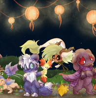 PKMNation - July Festival by Daffupanda