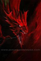 Dragon rojo by Raro666