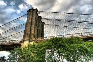 The Brooklyn Bridge I by pingallery