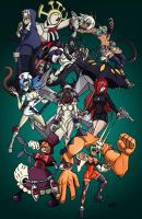 Skullgirls by LynxKano