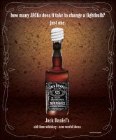 Jack Daniels ad by RealmKnight