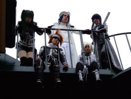 Exorcists Assemble - DGM by KellyJane