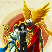 angels and demons by mimetic-heresy