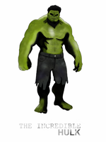 MARVEL - The Incredible Hulk by Mr-Saxon