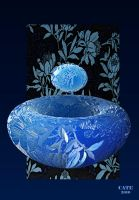 cut glass bowl by reciprocated