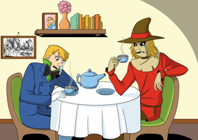 A tea with the Mad Hatter by ice-and-fire-88