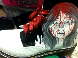 Stephen King Doc Martens - Carrie by GamerGirl84244