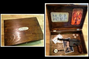 Replica of Booker DeWitts personal box by musky4489