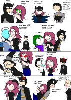 If I Dated Batman by lady-warrior