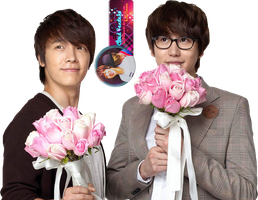 Donghae and Kyuhyun render by Unii-Hime182