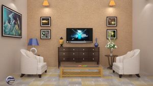 Living Room Furniture Set Design by signora3d