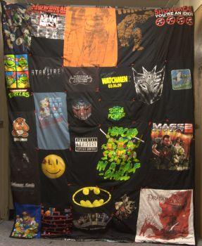 The Nerd Quilt of Superior Awesomeness by mariosonic