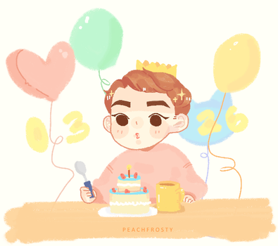 Happy Xiumin Day by Lolibeat