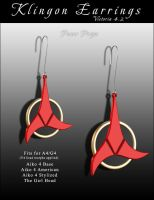 ST Klingon Earrings by inception8-Resource