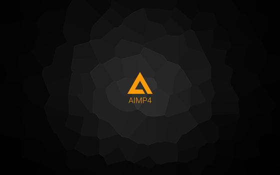 AIMP wallpapper crystal 2 by Aleksandr009