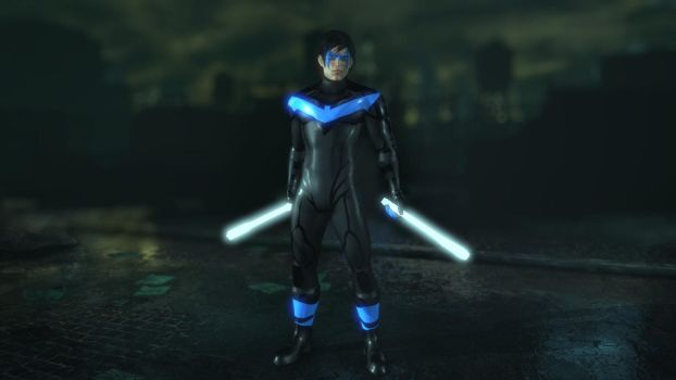 DC Rebirth Nightwing by ArkhamForever89