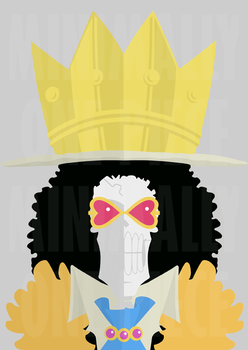 One Piece Minimalist Poster: Soul King by MinimallyOnePiece