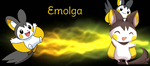 Emolga Wallpaper by Wicked-Wallpapers