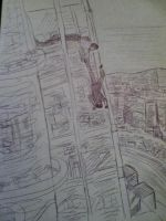 Mission Impossible 4 quick sketch 2 by Drawception